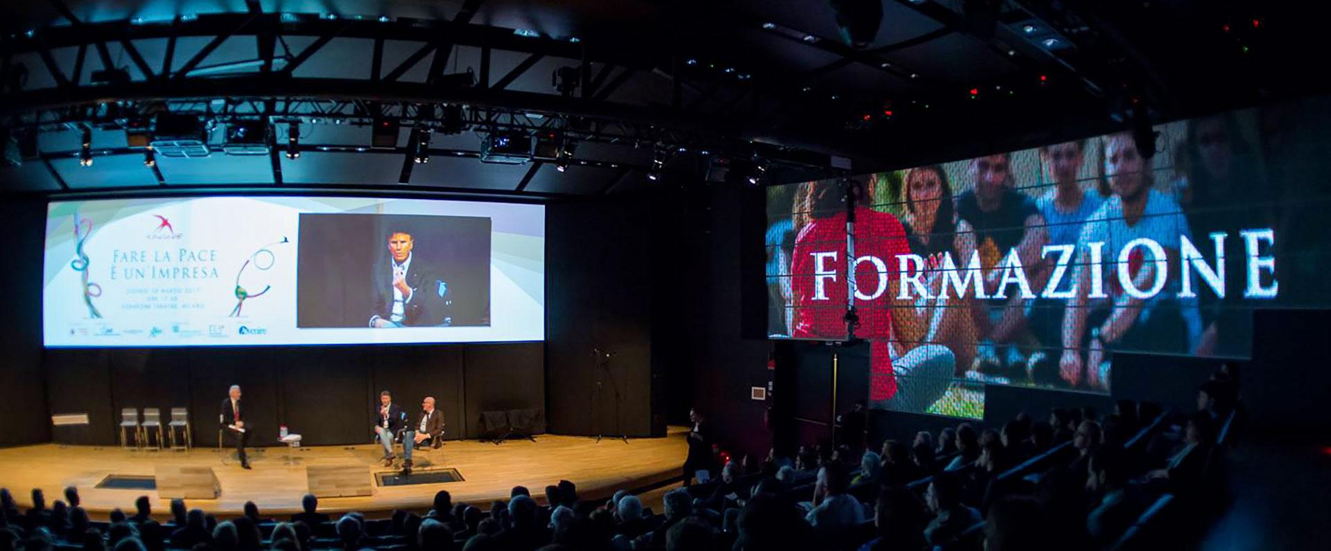 """""""Fare la Pace è un'Impresa"""". Con l'associazione Rondine ieri a Milano l'incontro di imprenditori e giovani innovatori sociali per promuovere un'economia capace di risolvere i conflitti"""