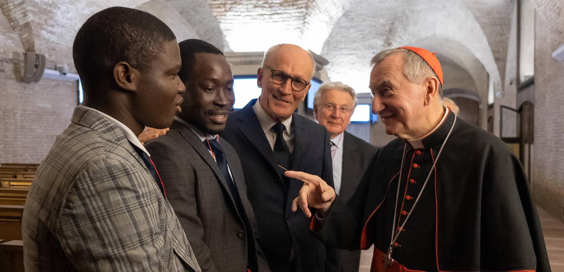 Rondine incontra il Corpo Diplomatico presso la Santa Sede. Il sostegno del Cardinale Parolin