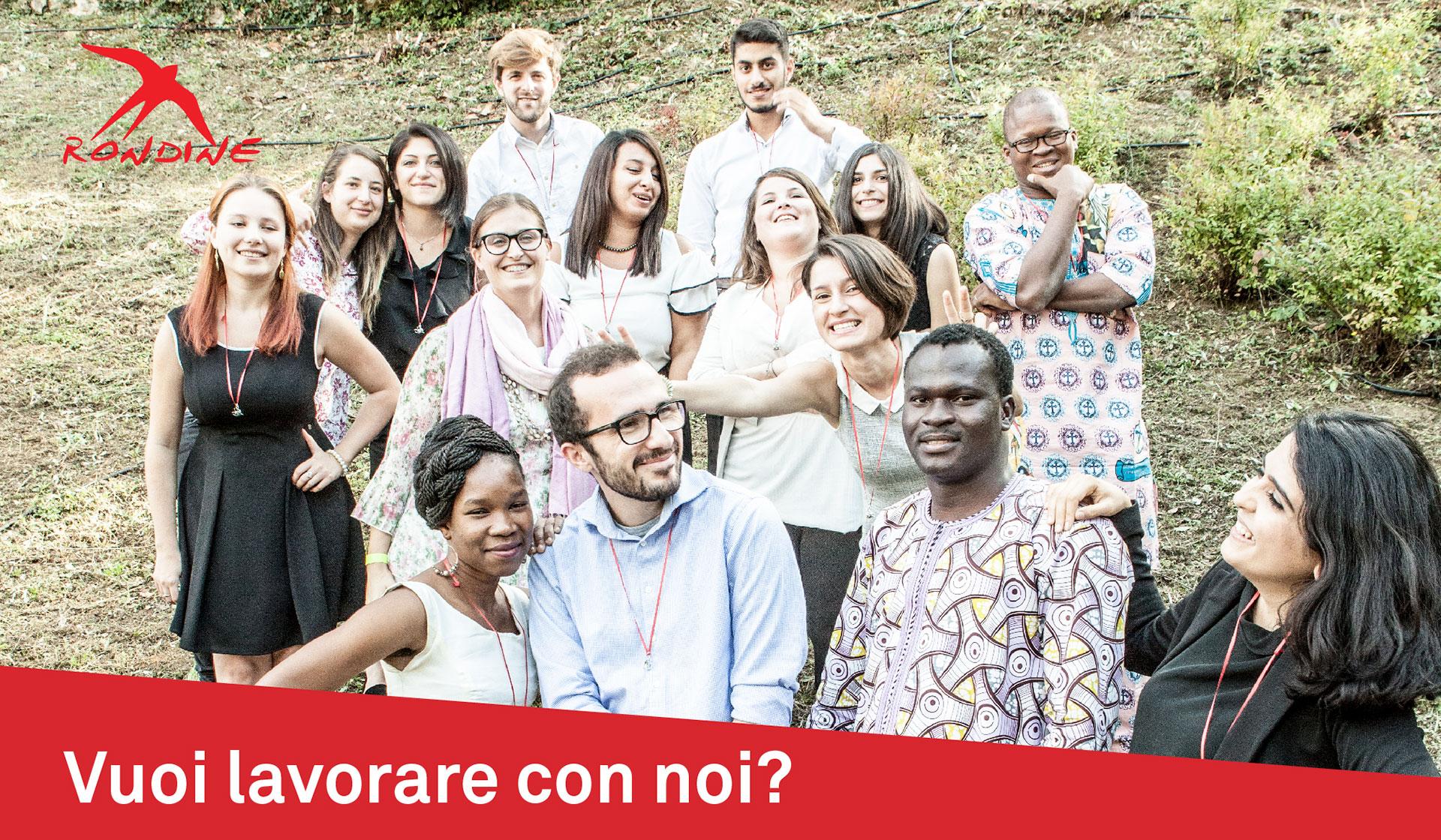 Vuoi lavorare con noi? Aperte posizioni professionali a Rondine