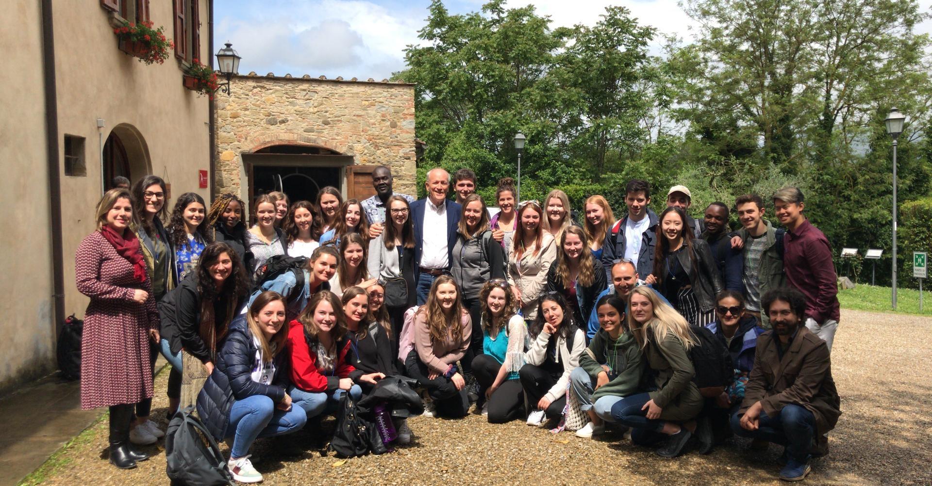 UWO Study abroad at Rondine: un nuovo modo di vedere il mondo. L'esperienza degli studenti canadesi