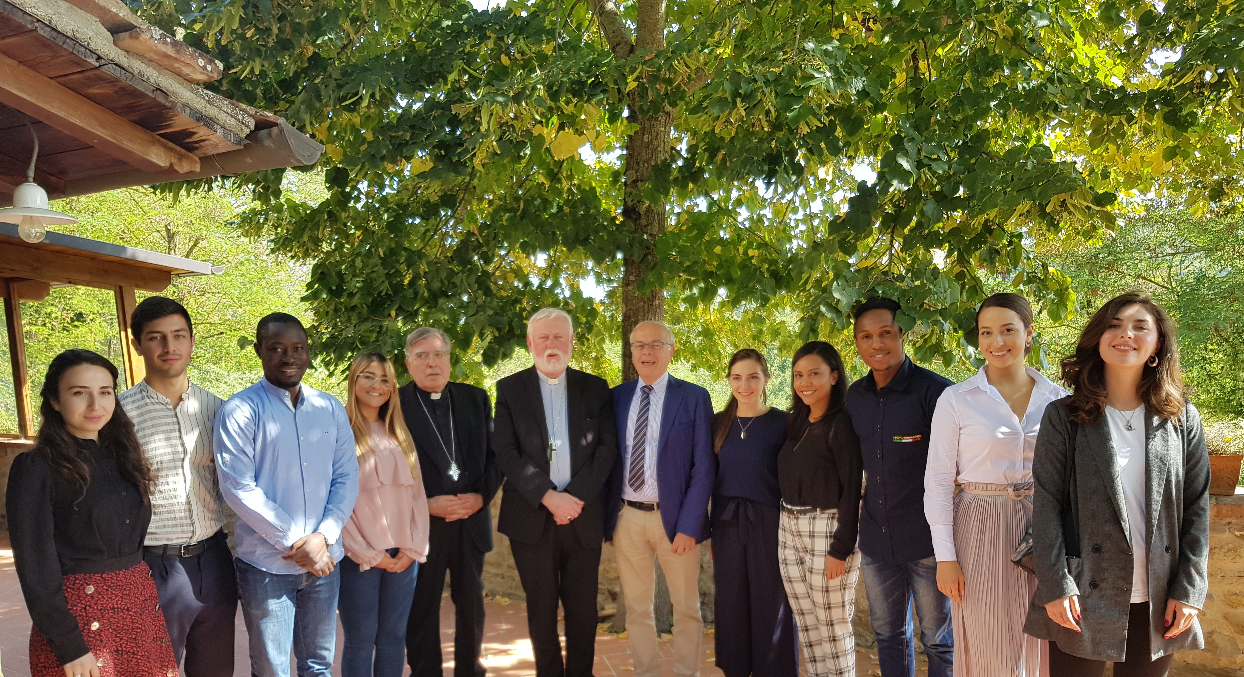 """Gallagher ai giovani di Rondine: """"Il vostro impegno con la campagna Leaders for Peace è da incoraggiare. Siete un motivo per sperare nel futuro"""""""