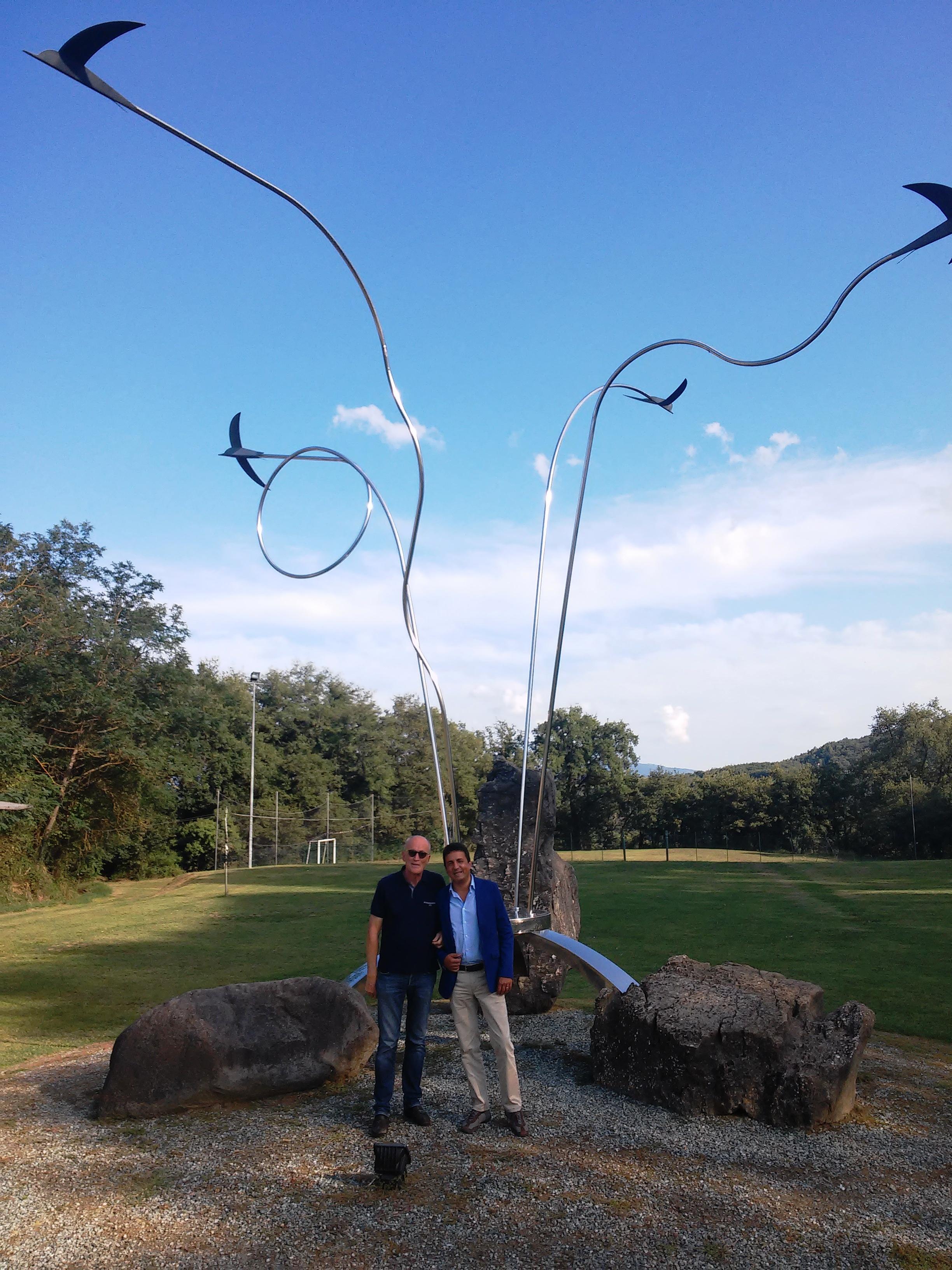 """Roberto Reggi: """"Rondine un luogo di educazione straordinario e unico"""". Il Sottosegretario del Miur, in visita alla Cittadella della Pace"""