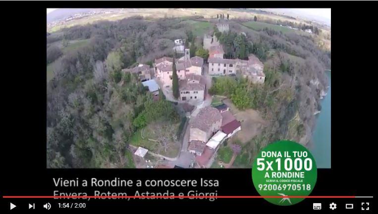 Con il tuo 5×1000 a Rondine puoi fare molto. E non ti costa nulla!