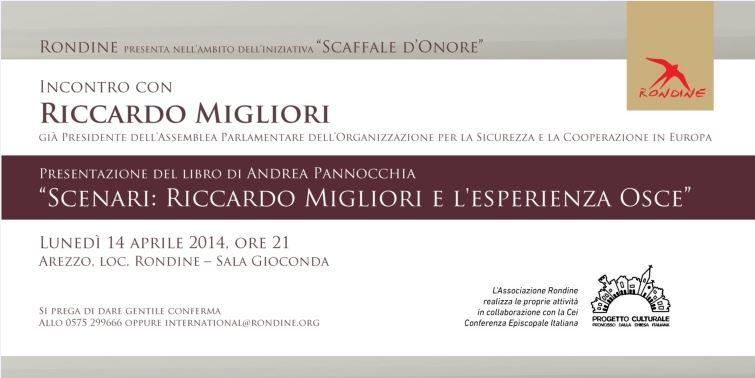 Scaffale d'Onore. Incontro con Riccardo Migliori