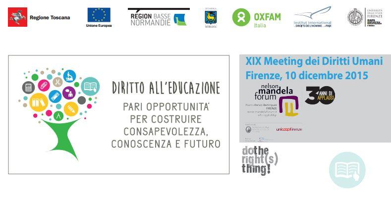 Rondine al XIX Meeting dei diritti umani: educazione, pari opportunità, conoscenza e futuro