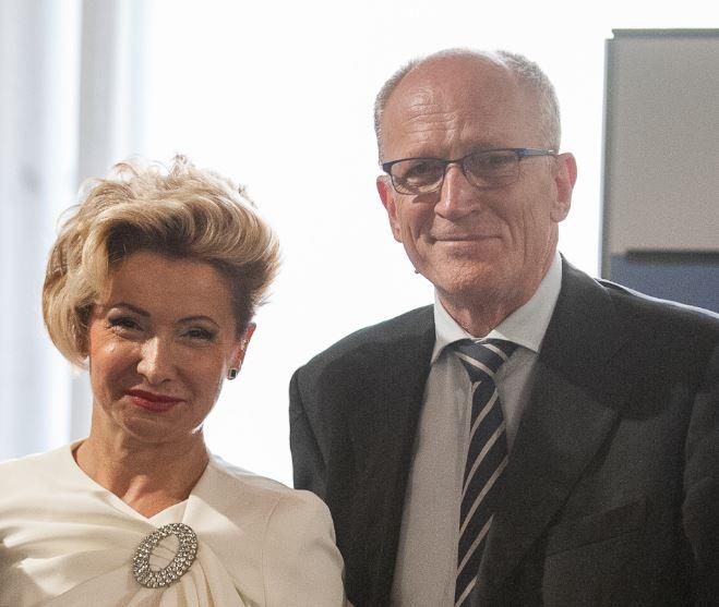 Rondine si felicita con Ivana Ciabatti. Il presidente degli Imprenditori per la Pace oggi è il nuovo presidente di Federorafi