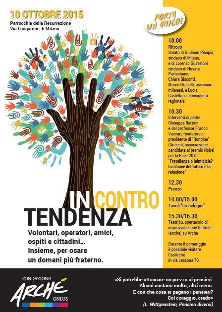 """Rondine ad """"Arché Live"""" per parlare di  incontro tra le differenze, volontariato e fraternità"""