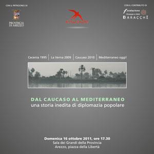 Conferenza Dal Caucaso al Mediterraneo,una storia inedita di diplomazia popolare