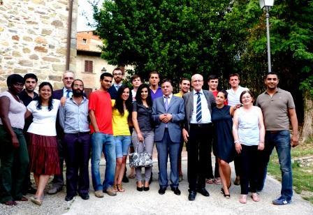 La visita dell' ambasciatore dell'ANP in Italia