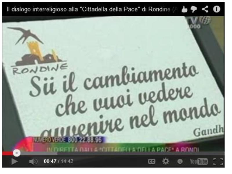 """Aspettando il Conclave. Il dialogo interreligioso alla """"Cittadella della Pace"""""""