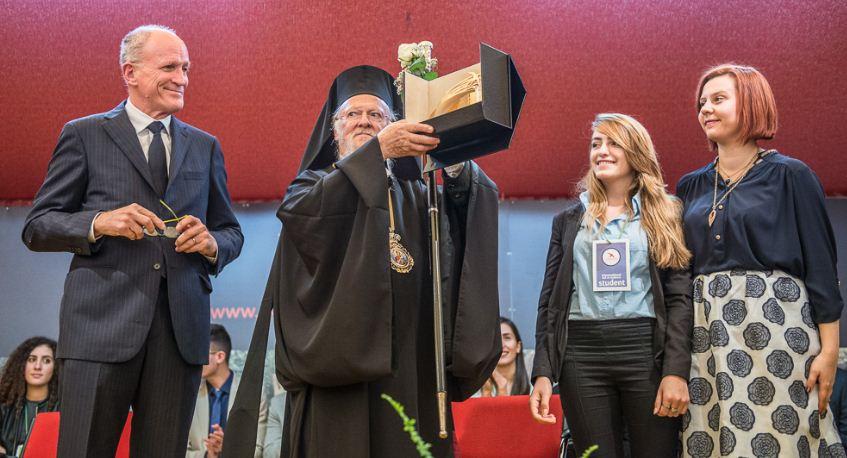 """Bartolomeo agli studenti di Rondine: """"Siate uomini nuovi in un mondo nuovo"""""""