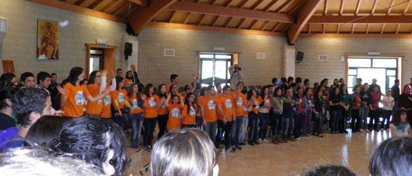 Franco Vaccari incontra la gioventù francescana in Calabria