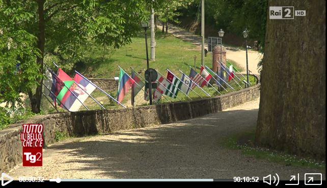 Tutto Il Bello Che C'e' a Rondine! La rubrica del TG2 racconta la Cittadella della Pace